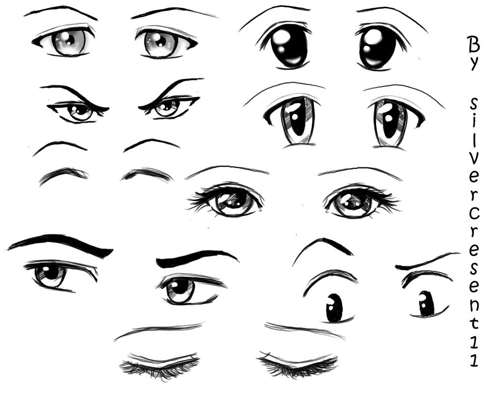 Anime_Eyes_by_Silvercresent11