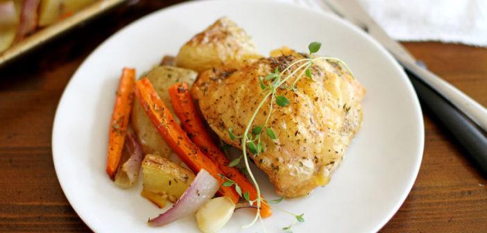 Šta kuhati za ručak? Hrskava piletina sa povrćem