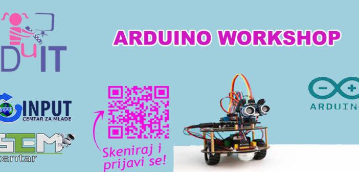 Prijavi se na: Arduino workshop